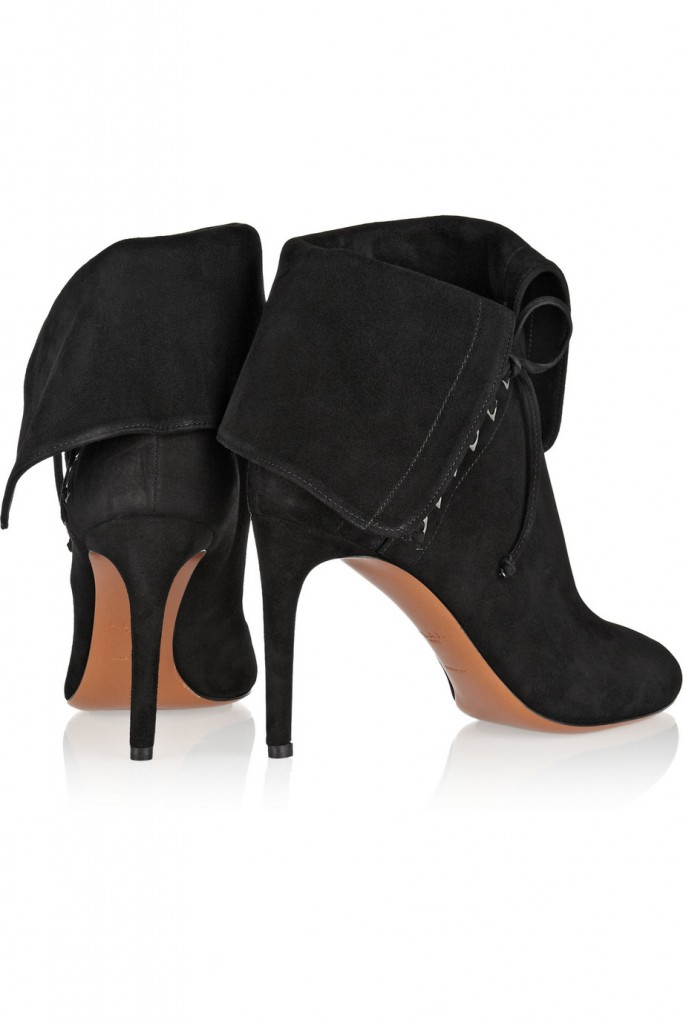 Pick Up A Pair Of Fold Over Suede Ankle Boots Like Kate In