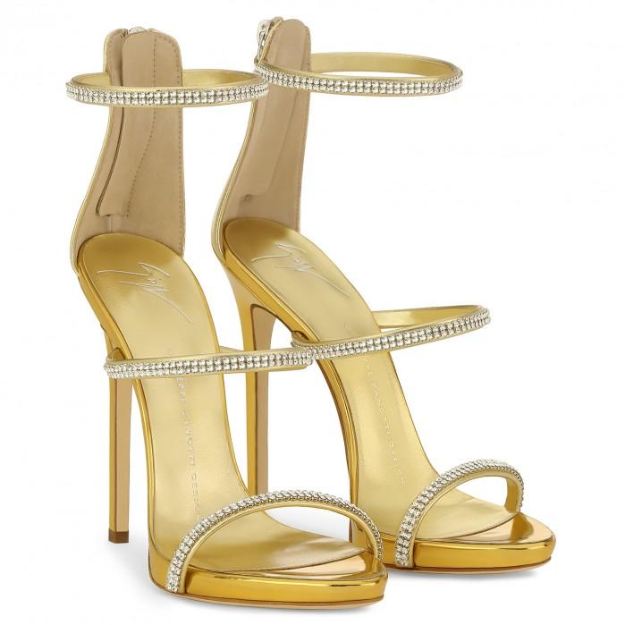 Giuseppe Zanotti Design Harmony Sparkle Shoes Post