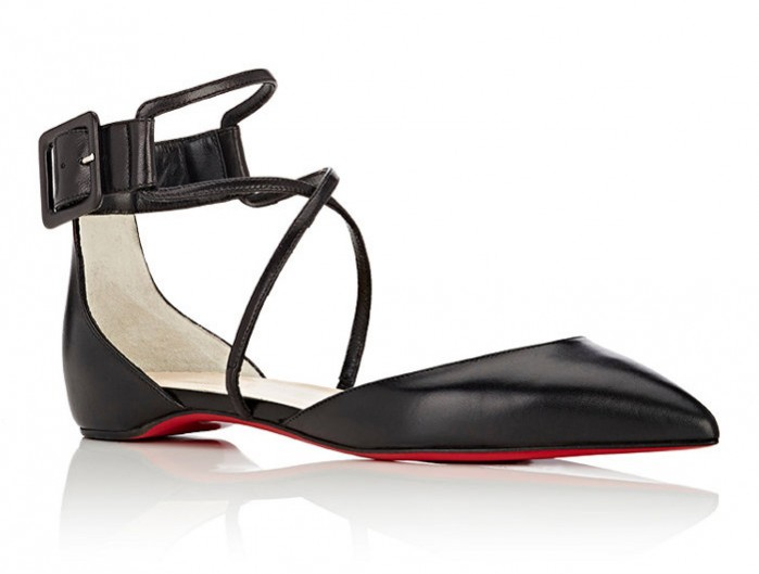 91d98e00f37 CHRISTIAN LOUBOUTIN Suzanna D'Orsay Flats - Shoes Post