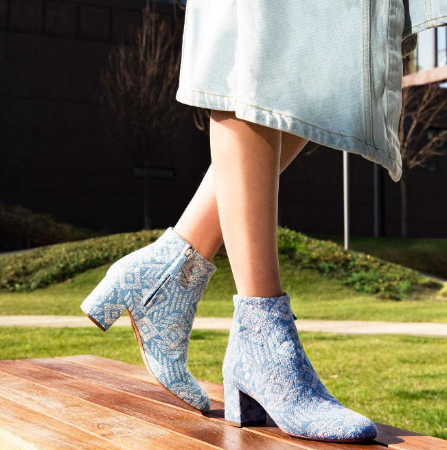 ever popular new authentic newest collection AQUAZZURA Brooklyn Embroidery Bootie 50 - Shoes Post