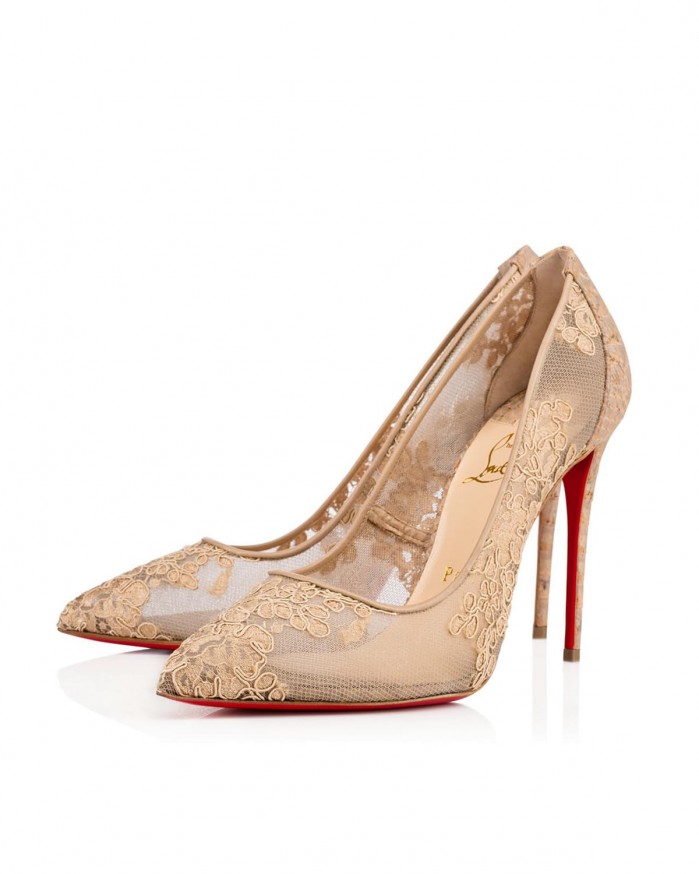 louboutin follies lace dentelle