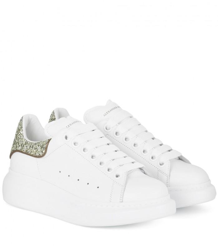 glittered sneakers like Ariel