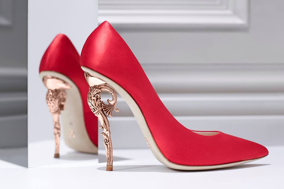 150a74bc2da Ralph   Russo BAROQUE PUMP - Shoes Post