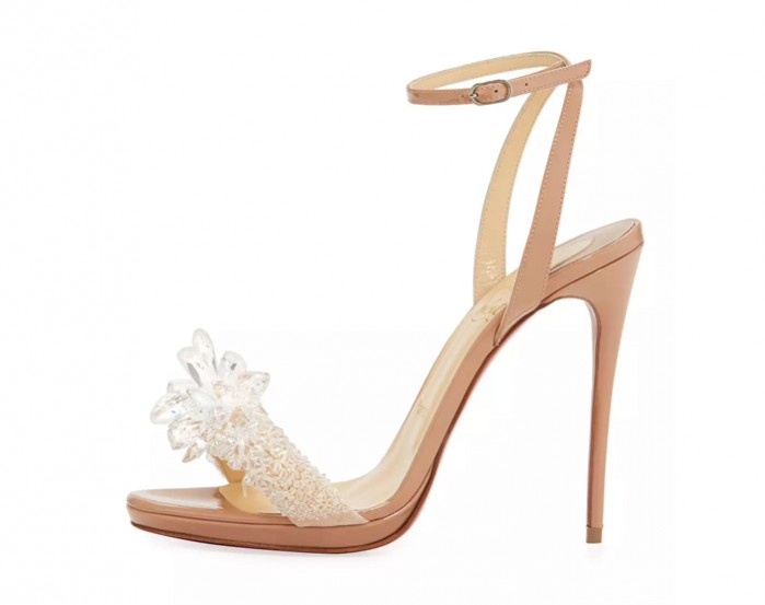 a9b2c6ed117 Christian Louboutin Crystal Queen Embellished Sandal