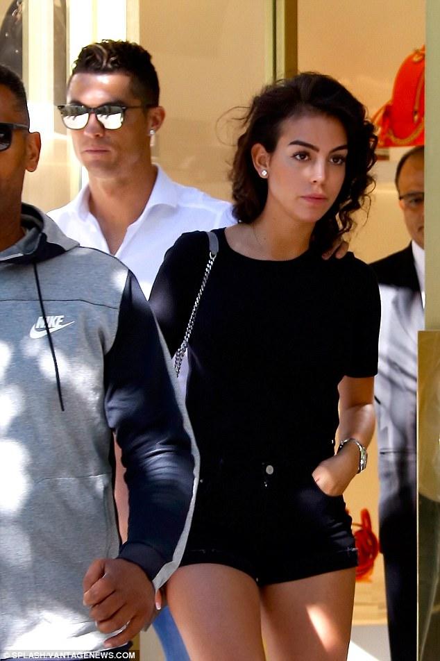 Georgina Rodriguez And Christian Ronaldo Holding Hands In