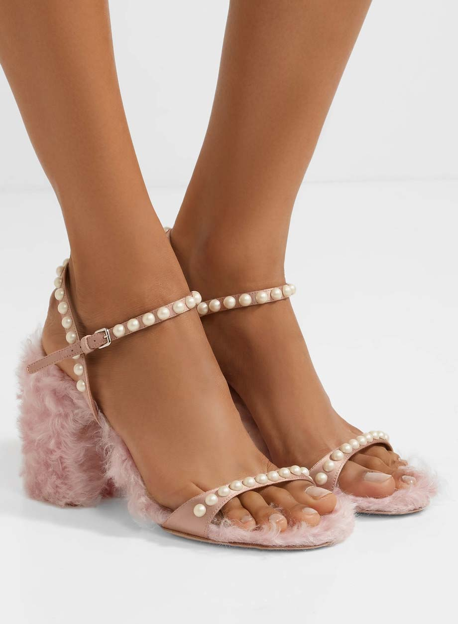 Dress Shoes With Pearls