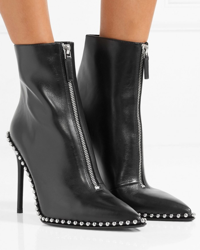 Alexander Wang Leather Eri Boots in . pmWPb3kuK