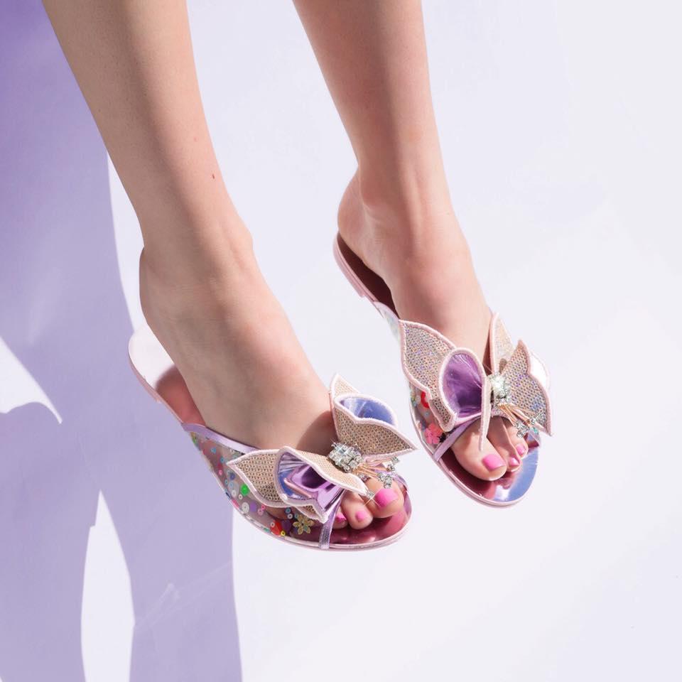 ccfdd927d8f2 Sophia Webster LANA SLIDE - Shoes Post