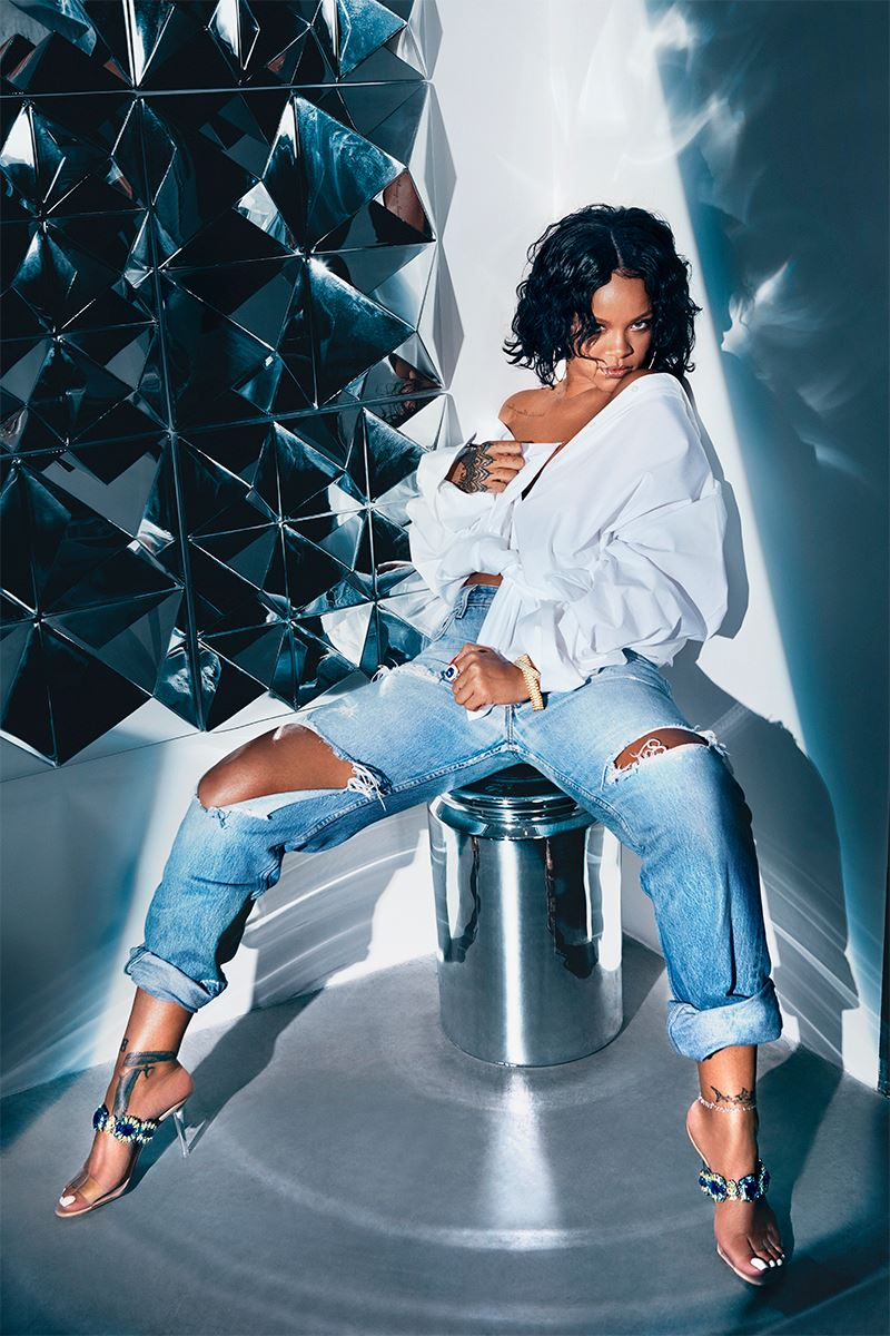 Rihanna x Manolo Denim Desserts Collection - Shoes Post