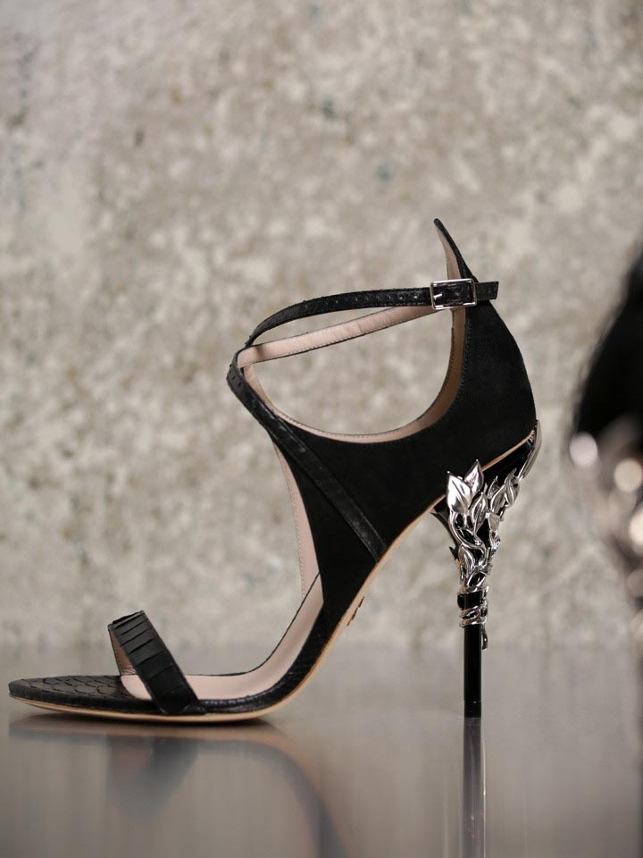 c56e8aa68 Ralph   Russo Eden Heel Sandal - Shoes Post