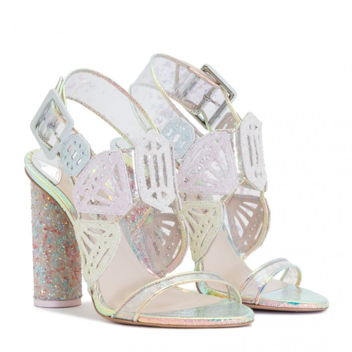 fffdd598fc32 Sophia Webster DIAMOND GIRL GEM Sandals   CLARA Clutch - Shoes Post