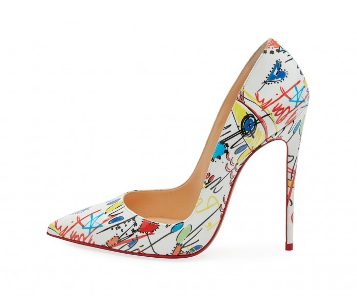 Christian Louboutin So Kate Loubitag Red Sole Pump - Shoes ...