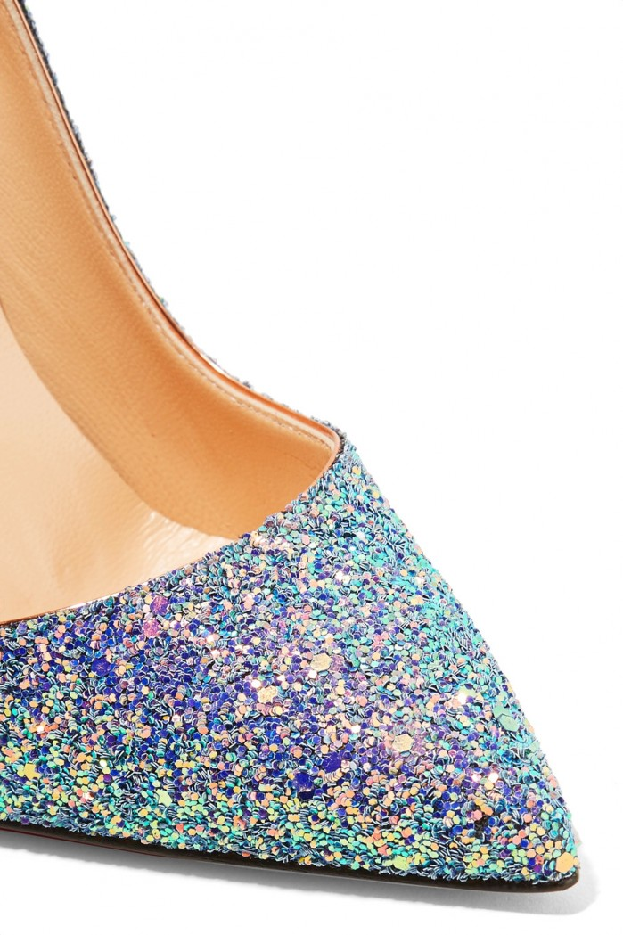 separation shoes 95170 ec4f0 CHRISTIAN LOUBOUTIN So Kate Dragonfly 120 glittered leather ...