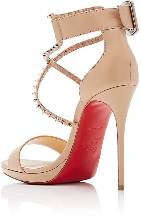 promo code 1ccc4 f4200 Christian Louboutin Choca Lux High Red Sole Sandal - Shoes Post