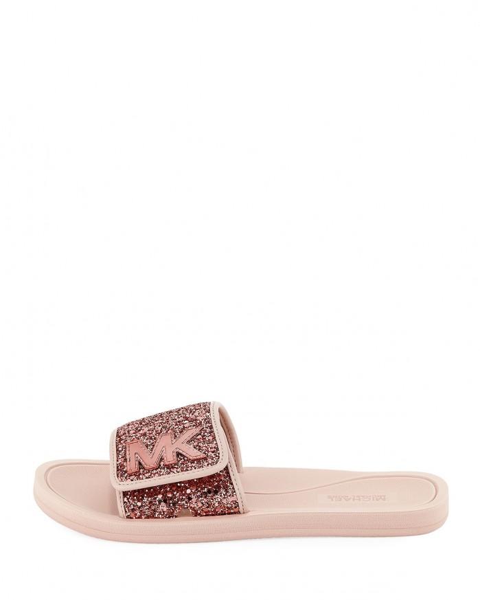 8fc02695d074 MICHAEL Michael Kors MK Glitter Slide Sandal - Shoes Post