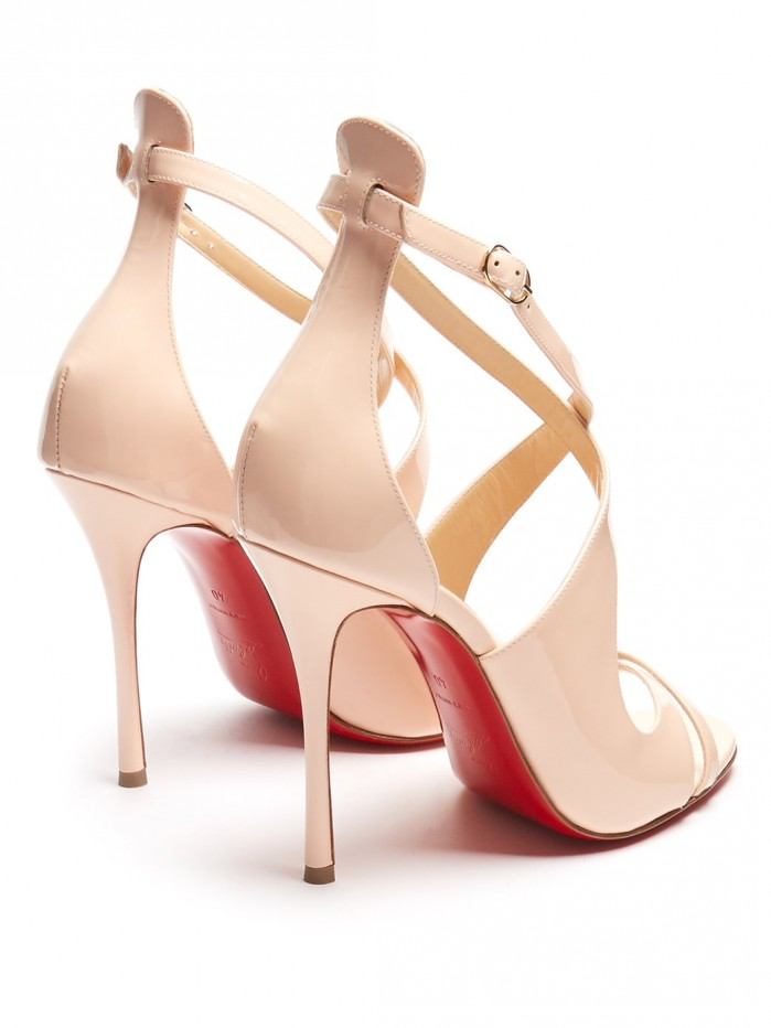 newest collection be098 1cdcf CHRISTIAN LOUBOUTIN Malefissima 125 patent-leather pumps ...