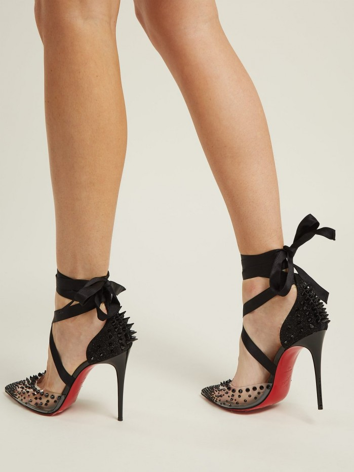 6a9362921b4 CHRISTIAN LOUBOUTIN Mechante Reine stiletto heels - Shoes Post