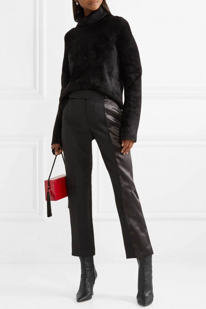 The Row Gloria Leather Ankle Boots Shoes Post