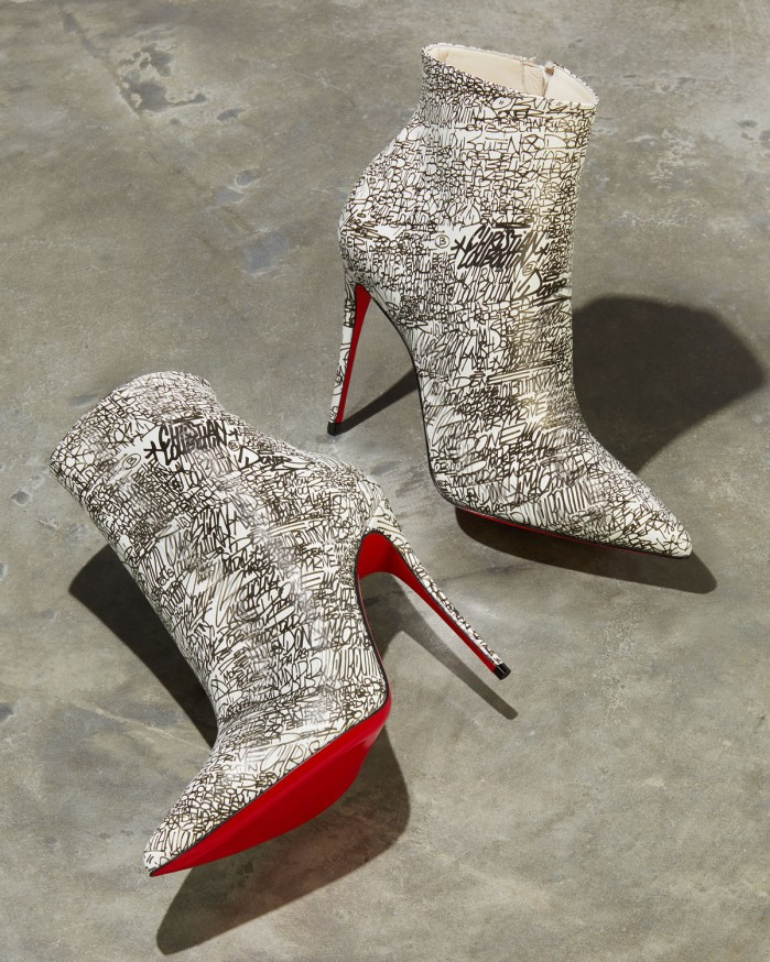 best service c6662 6c9df Christian Louboutin So Kate 100 Calf Caligraf Red Sole ...