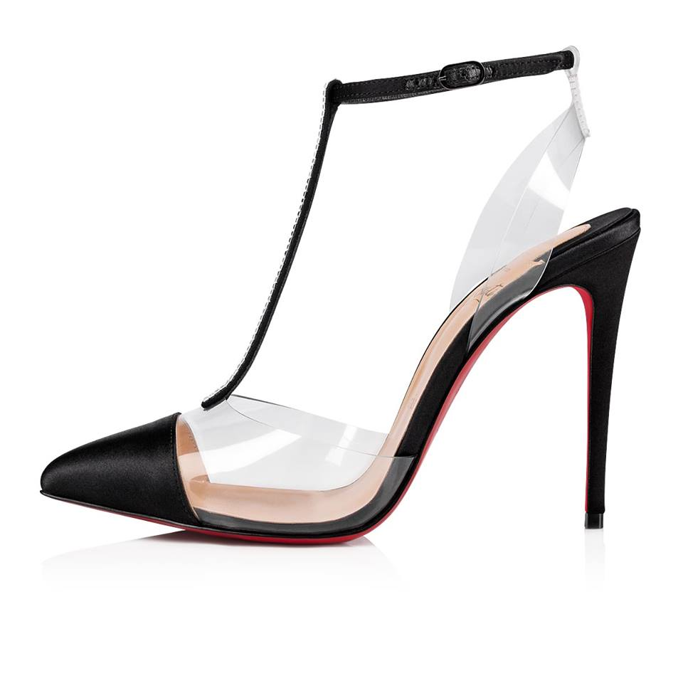 279240983a11 Christian Louboutin Nosy Strass 100 mm - Shoes Post