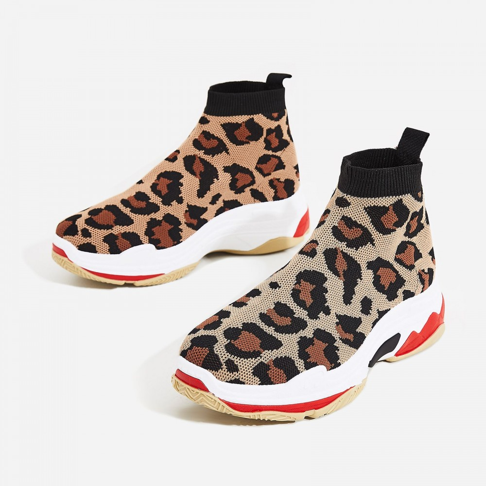 EGO Tidal Chunky Sole Trainer In