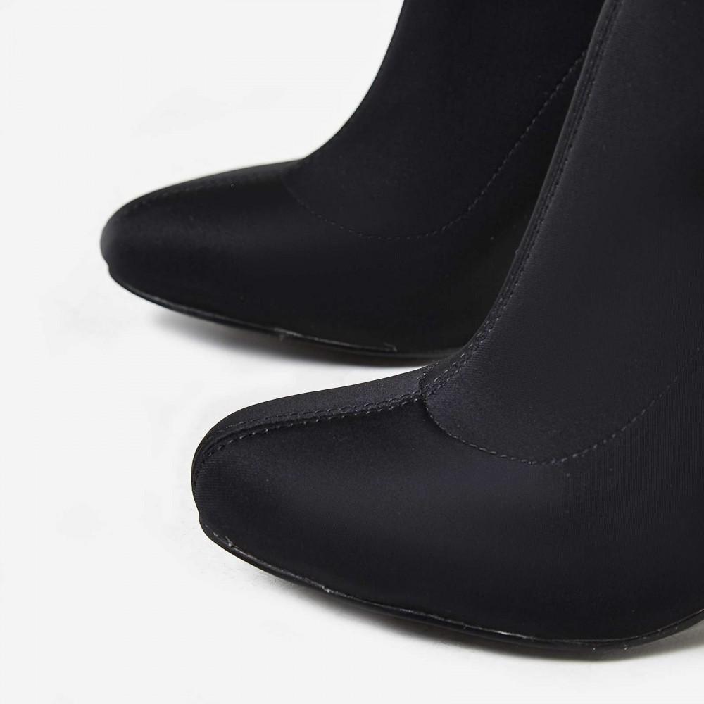 EGO Hayden Block Heel Sock Boot In